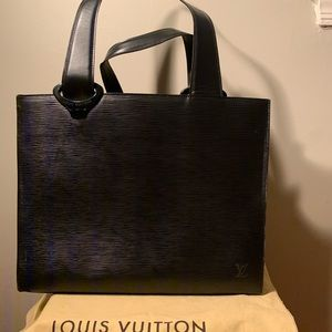 Louis Vuitton Gémeaux Epi Leather Tote